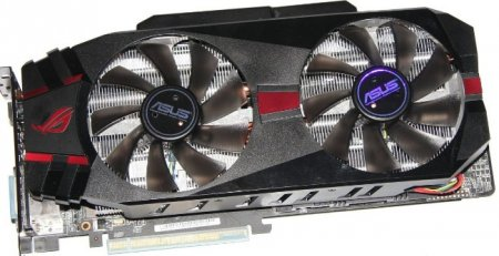 Обзор видеокарты ASUS MATRIX GeForce GTX 580 Platinum