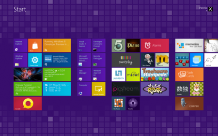 Как сменить фон Metro Windows 8 Developer Preview x64