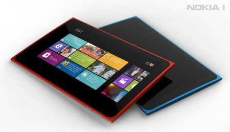 Планшет Nokia 1 с ОС Windows 8 - концепт