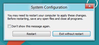Входим в безопасный режим Windows 8 из ОС