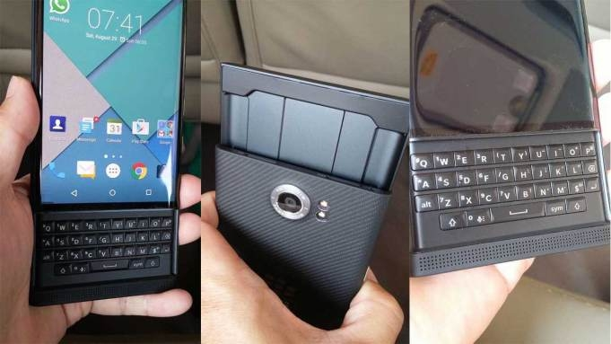 QWERTY-смартфон BlackBerry Venice: фото и характеристики